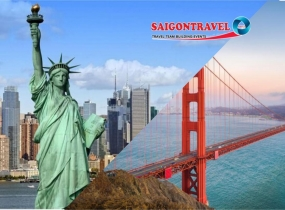 Tour Mỹ - LOS ANGELES - HOLLYWOOD-LAS VEGAS - HOOVER DAM - SAN JOSE - SAN FRANCISCO BỜ TÂY HOA KỲ
